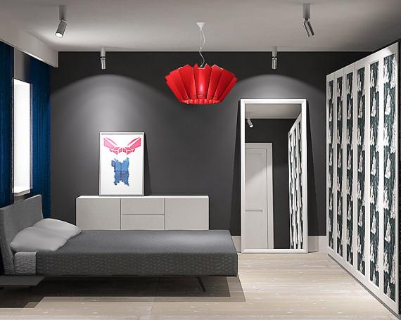 <!--:pl-->Wnętrza sypialni w domu w Gdańsku<!--:-->