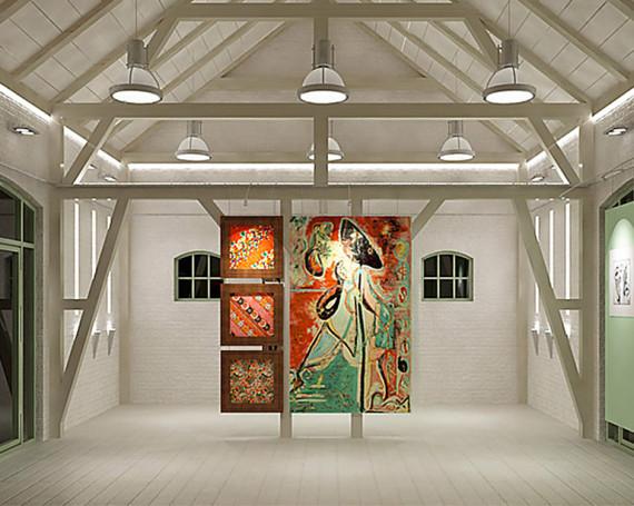 <!--:pl-->Wnętrze muzealne w starej stodole w Rozewiu<!--:-->