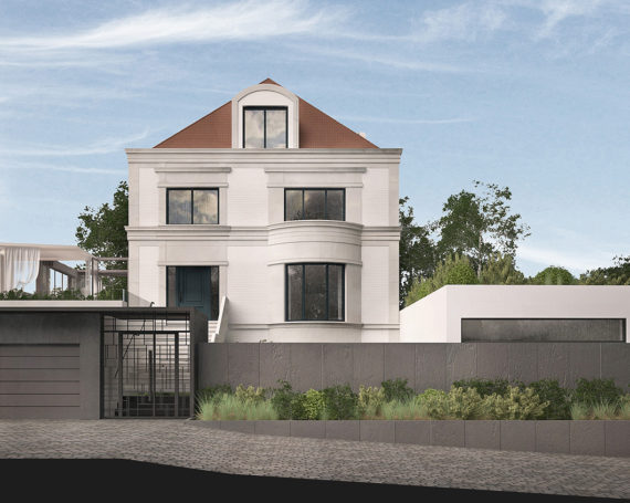 Rozbudowa domu jednorodzinnego w Gdyni