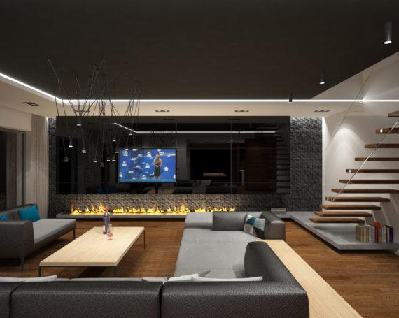 Wnętrza domu w Grudziądzu