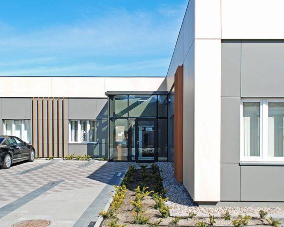Przebudowa budynku biurowego w Wejherowie