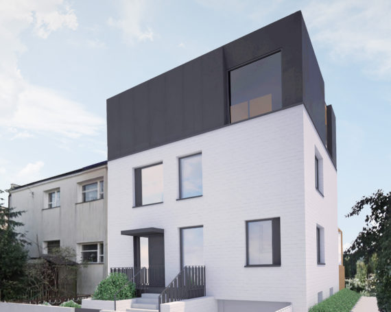 Nadbudowa i przebudowa domu w Gdańsku